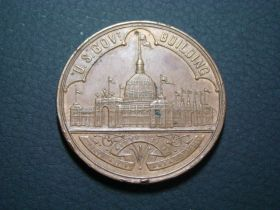 1893 World's Columbian Exposition Chicago U.S. Government Building Medal