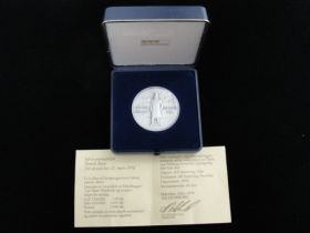 1978 Norway Henrik Ibsen Silver Commemorative Limited Edition Medal 331/1000