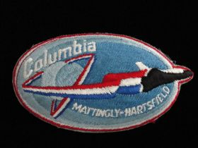 1982 Columbia Space Shuttle Patch STS-4 Mattingly-Hartsfield