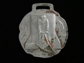 1940's Ingersoll-Rand Watch Fob - Jackhammers - Jackbits - By Whitehead & Hoag