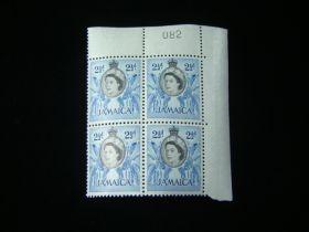 Jamaica Scott #162 Plate # Block Of 4