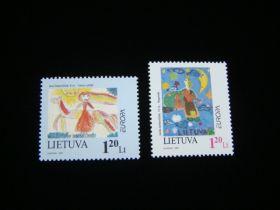Lithuania Scott #568-569 Complete Set
