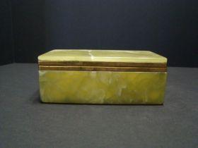19th Century Chinese Fine Quality Jade Lidded Box