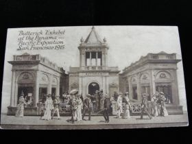 1915 Panama–Pacific International Exposition Butterick Exhibit Postcard