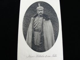 1915 Kaiser Wilhelm II In The Field Postcard Postally Used