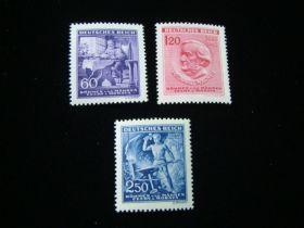 Bohemia & Moravia Scott #85-87 Complete Set