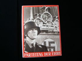 "1936 Parteitag Der Ehre ""Party Congress Of Honor"" Book 64+ Illustrated Pages"