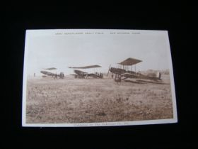 "1917-1918 ""Army Aeroplanes Kelly Field"" San Antonio Texas Postcard"