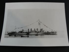 1920 USS Sicard (DD-346) United States Navy Original Event Photograph