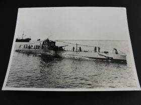 1922-1945 USS S-32 (SS-137) United States Navy S-Class Submarine Original Photo