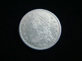 1835 Capped Bust Silver Quarter Very Fine Details