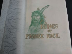 "1908 Echoes Of Pawnee Rock By Margaret Perkins ""To The Pioneers Of Kansas"""