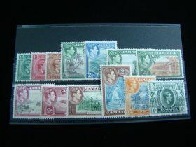 Jamaica Scott #116-128 Complete Set