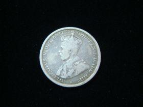 Australia 1917-M Silver Shilling Fine+