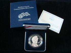2009-P United States Mint Proof Abraham Lincoln Silver Dollar