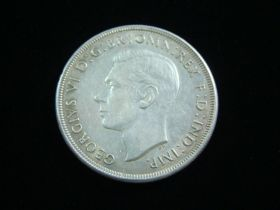 Australia 1937 Silver Crown XF