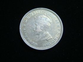 Australia 1927 Silver Florin XF