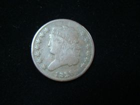 1826 Classic Head Half Cent VG