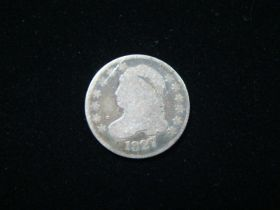 1827 Capped Bust Silver Dime Good