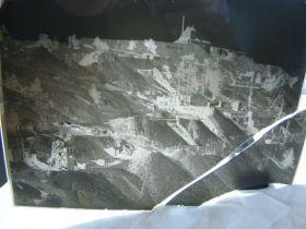 "1904-1910 ""Rare"" T.J. Hileman Glass Plate Negative ""Bluebird,Dante,Trilby Mines Cripple Creek"" 8""x10"""