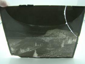 "1904-1910 ""Rare"" T.J. Hileman Glass Plate Negative ""Isabella Mine Cripple Creek"" 8""x10"""