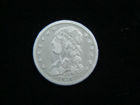 1838 Capped Bust Silver Quarter VG
