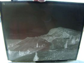 "1908-10 T.J. Hileman Glass Plate Negative ""Isabella Mine Cripple Creek"" 8""x10"" Rare!! a2"