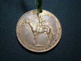 "1910 Century ""Membership Emblem Of The Boy Scouts Club"" Good Luck Medal"