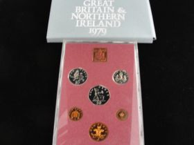1979 Coinage of Great Britain and North Ireland Proof Set