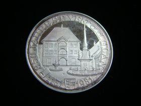 1131-1981 Austria Sankt Veit an der Glan 850 Years Commemorative Silver Medal