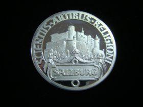 1982 Austria Salzburg Commemorative Silver Medal