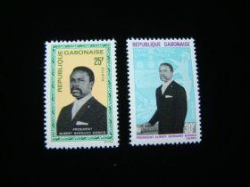 Gabon Scott #228-229 Complete Set