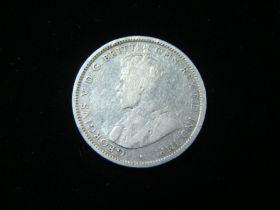 Australia 1914 Silver Shilling Good