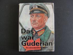 1950's Das War Guderian Ein Lebensbericht in Bildern By H. Scheibert 176 Pages