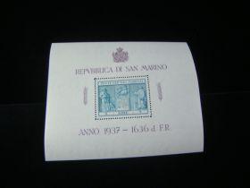 San Marino Scott #185 Sheet Of 1 Mint Never Hinged