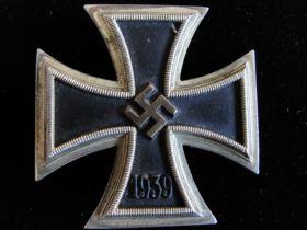 WW2 German Iron Cross 1st Class 1939 Very Fine