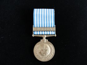 United Nations Service in Korea Medal