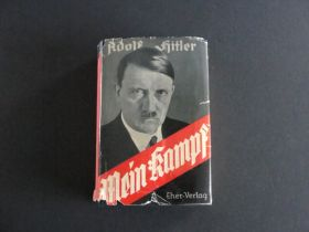 1934 Edition Of Mein Kampf by Adolf Hitler With Dust Jacket