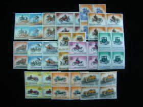 San Marino Scott #494-508 Complete Set Blocks Of 4