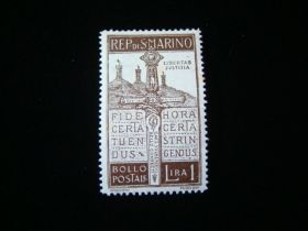 San Marino Scott #83 Mint Never Hinged