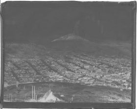 "1908 ""Cripple Creek"" World's Greatest Gold Camp Glass Plate Negative 8""x10"" Rare! #2"