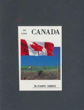 Canada Scott #1189c Complete Booklet