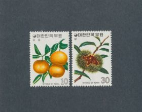 Korea Scott #901-902 Short Set