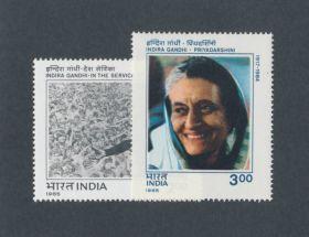 India Scott #1098-1099 Complete Set