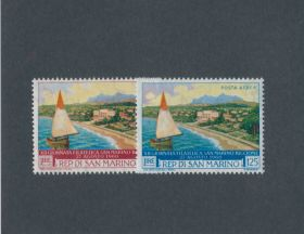 San Marino Scott #471,C116 Complete Set