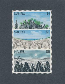 Nauru Scott #179-181 Short Set