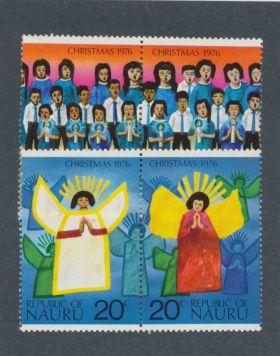 Nauru Scott #146-149 Complete Set Pairs