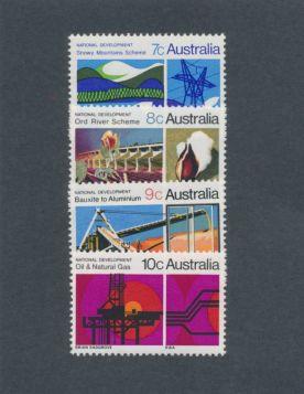 Australia Scott #483-486 Complete Set