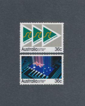Australia Scott #1009-1010 Complete Set