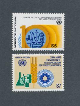 U.N. Vienna Scott #22-23 Complete Set